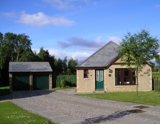 Front View of 'The Scott's House' - Aviemore